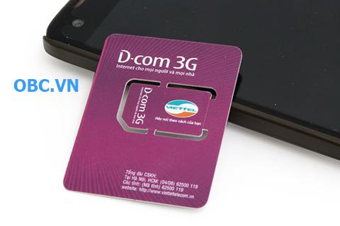 Sim 3G Viettel Dcom giá tốt chuẩn mỗi ngày - Mua ngay mua ngay