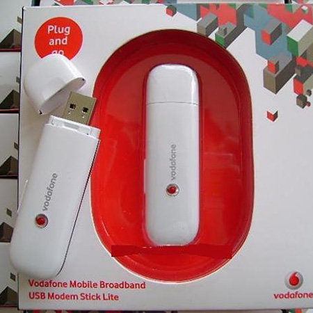 USB 3G Vodafone K3765 7.2Mbps
