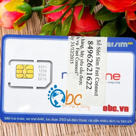 Sim 3G Mobifone Fast Connect 29Gb