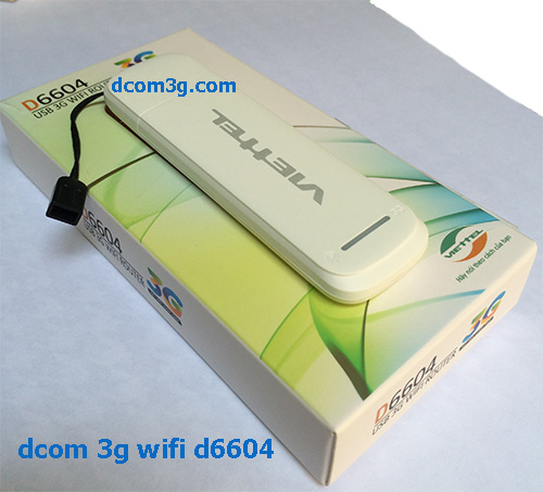 USB 3G WIFI ROUTER D6604 Viettel