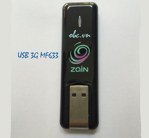 USB 3G ZTE MF633 hàng chính hãng chạy đa mạng