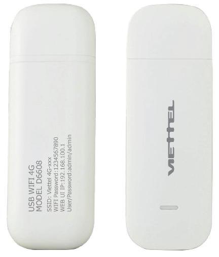Hình ảnh USB 4G WiFi Router Viettel D6608