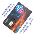 Sim 3G 4G OBC Vinaphone 2Gb/ngày trọn gói 1 năm
