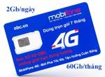 Sim 3G 4G OBC Mobifone không giới hạn dung lượng dùng trọn gói 7 tháng